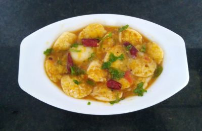 Madurai Kitchen Mini Sambar Idli
