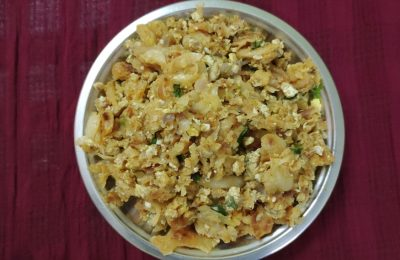 Madurai Kitchen Muttai Kothu Parotta