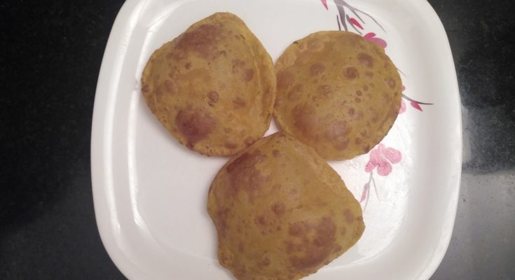 Madurai Kitchen Aloo puri
