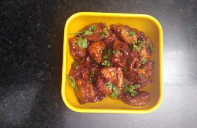 Madurai Kitchen Egg Manchurian