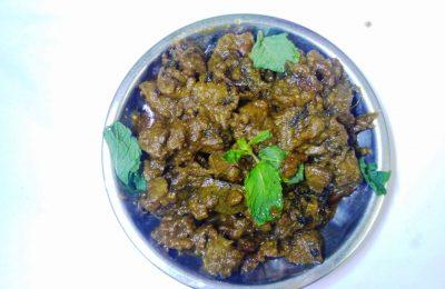 Mutton Liver Fry Madurai Kitchen